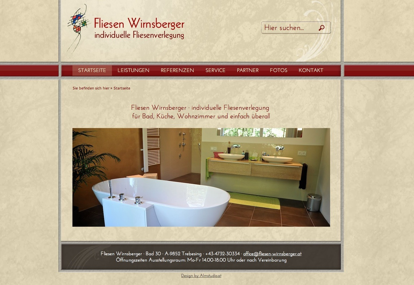 Screen-Design Fliesen Wirnsberger