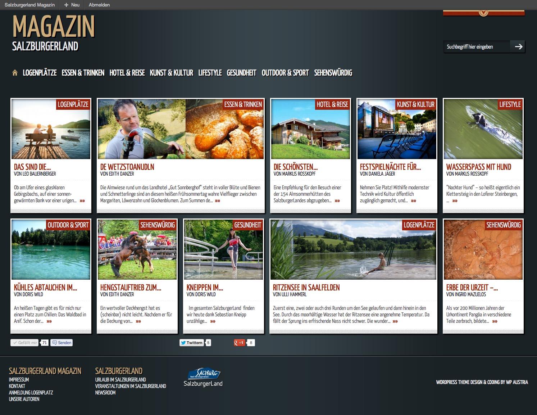 Online Magazin Salzburgerland Startseite