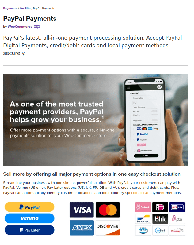 woocommerce_paypal_payments Plugin
